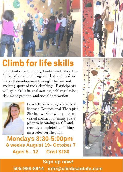 Climb for life Fall 1